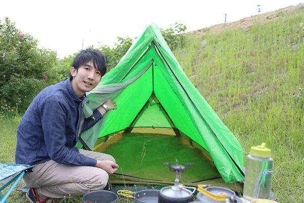 ムーンライトテント2型_寝室_正面