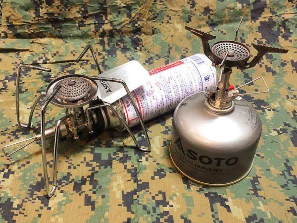 soto_アミカス_レギュレーターストーブ_ガス缶装着時の大きさ