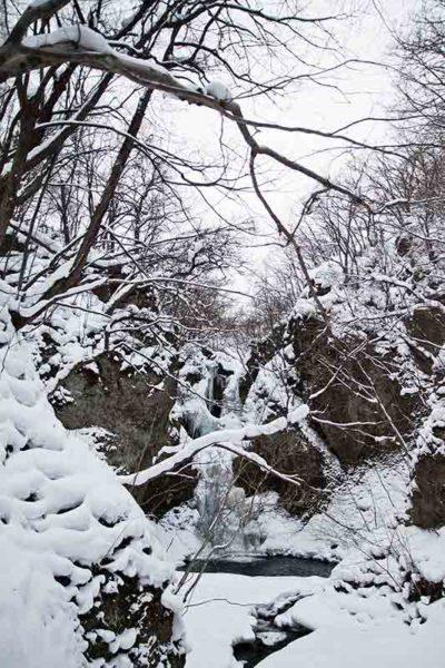 星置_乙女の滝_全景