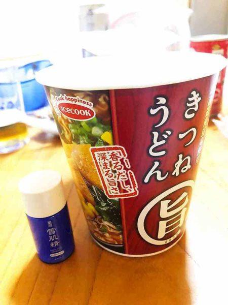 ラーメンの残り汁_高吸水性樹脂CP-1_カップうどんだけどテストしてみる!