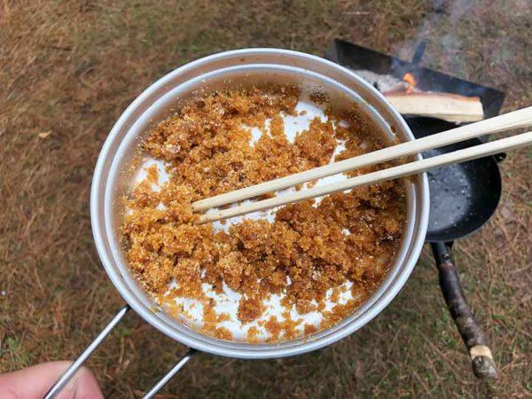 焼き肉のタレ_高吸水性樹脂CP-1_余った焼き肉のタレも固められる!