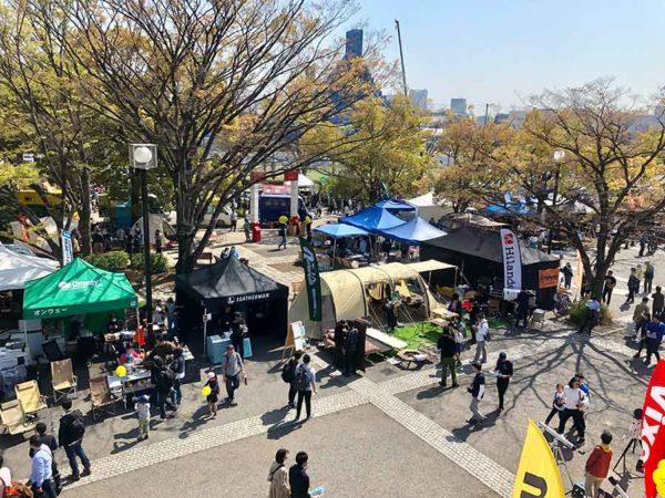 アウトドアデイジャパン東京2019_代々木公園イベント広場1