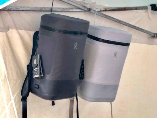 アウトドアデイジャパン札幌2019_ハイドロフラスク_リュック型のクーラーバッグもあった