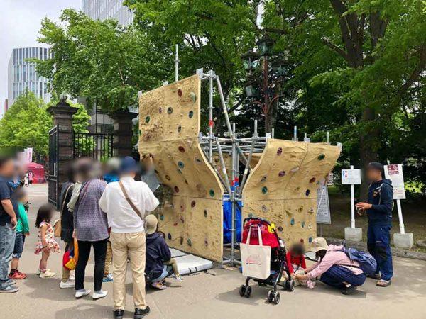 アウトドアデイジャパン札幌2019_ボルダリング
