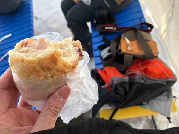 タウシュベツ川橋梁旅_2日目_上士幌のパン屋さん【トカトカ】のパンが潰れちゃった…